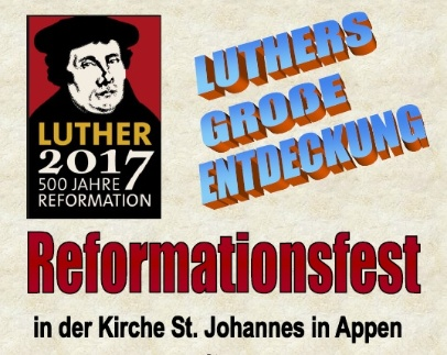 2017 Reformationsfest Plakat Voice and Spirit